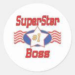 Beste der Chef-Geschenke der Welt Sticker
