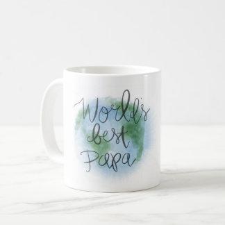 Beste der Papa-Tasse der Welt Kaffeetasse