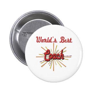 Beste der Trainer-Geschenke der Welt Anstecknadelbuttons