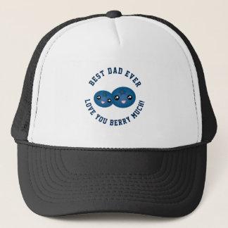 Beste der Vatertags-Liebe Vati-überhaupt Sie Beere Truckerkappe