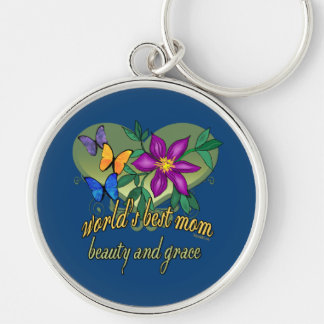 Beste die Mamma-Schönheit und Anmut der Welt Schlüsselanhänger