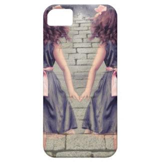 beste Doppelmädchen der Freunde der Vintagen iPhone 5 Cover
