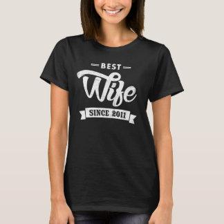 Beste Ehefrau seit 2011 T-Shirt