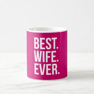 Beste Ehefrau-überhaupt Beere Kaffeetasse
