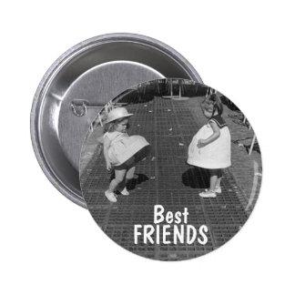 Beste Freund-Knopf Runder Button 5,1 Cm