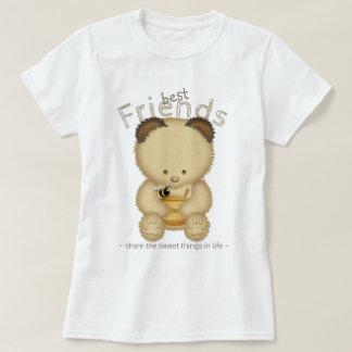 Beste Freund-niedlicher Honig-Bär T-Shirt