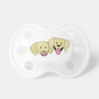 Beste Freunde - die Labradore Schnuller