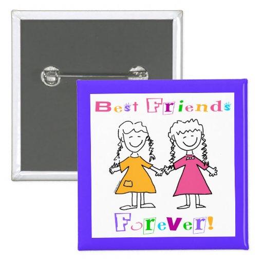 Beste Freunde für immer BESTE FREUNDIN Geschenke Anstecknadelbuttons