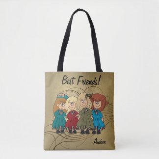 Beste Freunde für immer - personifizieren Sie Tasche