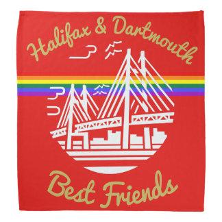 Beste Freunde Halifaxes Dartmouth   Bandana Halstuch