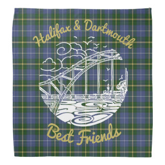 Beste Freunde Halifaxes Dartmouth   Bandana Tartan Kopftuch