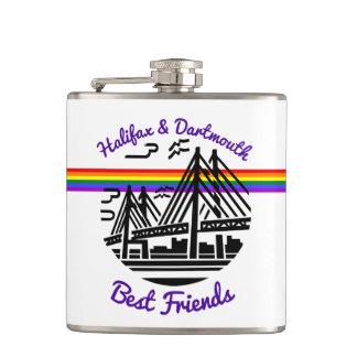 Beste Freunde Halifaxes Dartmouth Flachmann