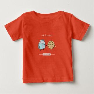 Beste Freunde: Milch u. Plätzchen Baby T-shirt
