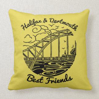 Beste Freunde Neuschottlands Halifax Dartmouth Kissen