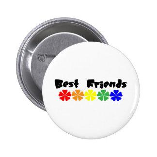 Beste Freunde Runder Button 5,1 Cm