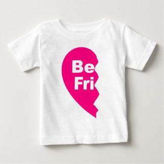 Beste Freunde, sind FRU Baby T-shirt
