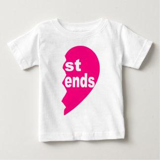 Beste Freunde T-Shirt, St.-Enden Baby T-shirt
