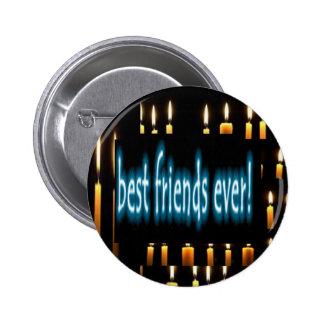 Beste Freunde überhaupt Runder Button 5,1 Cm