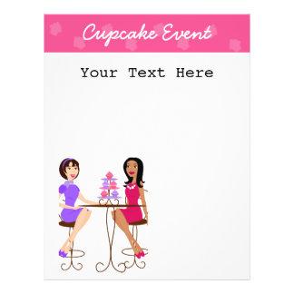 Beste Freunde und kleine Kuchen! 21,6 X 27,9 Cm Flyer