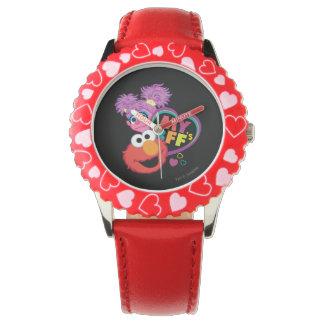 BESTE FREUNDIN Abby und Elmo Armbanduhr