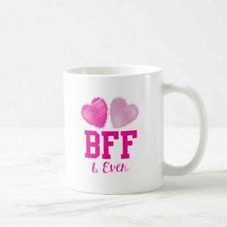 BESTE FREUNDIN beste Freunde für immer Tasse