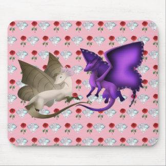 BESTE FREUNDIN Schmetterlings-Drache-Mausunterlage Mousepad