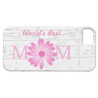 Beste Gänseblümchen-Blume der Mamma-Mutter Vintage iPhone 5 Schutzhülle