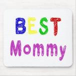 Beste Geschenke der Mama-Mutter Tagesund Mama-Klei Mauspads