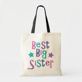Beste große Schwester Tragetasche