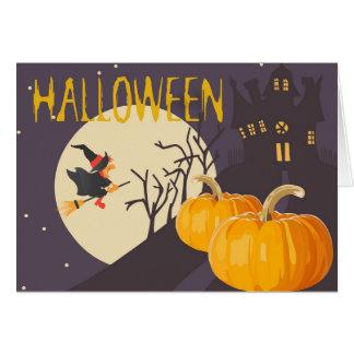 Beste Hexen Halloweens Karte