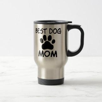 Beste Hundemamma-Shirts, Magneten, Knöpfe u. mehr Edelstahl Thermotasse