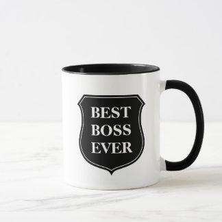 Beste Kaffee-Tasse des Chefs überhaupt mit Zitat Tasse