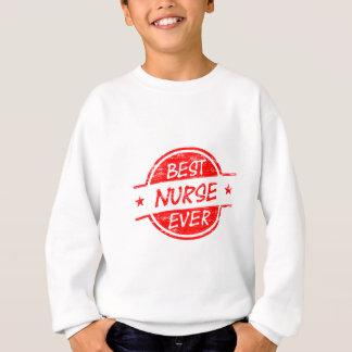 Beste Krankenschwester überhaupt rot Sweatshirt