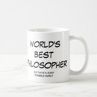 Beste (linke) große Tasse des Philosophen der Welt