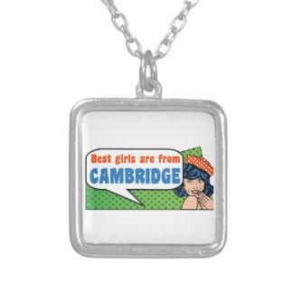 Beste Mädchen sind von Cambridge Versilberte Kette