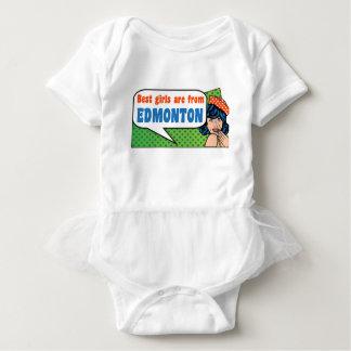 Beste Mädchen sind von Edmonton Baby Strampler