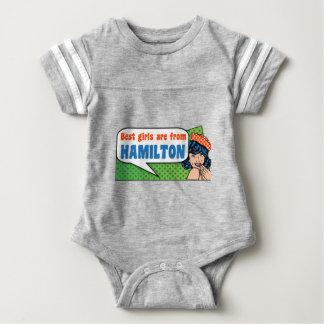 Beste Mädchen sind von Hamilton Baby Strampler