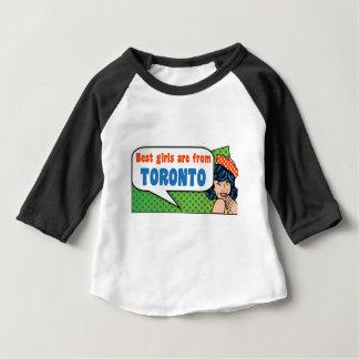 Beste Mädchen sind von Toronto Baby T-shirt