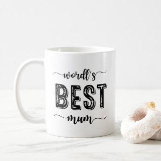 Beste Mama-Tasse der Welt Kaffeetasse