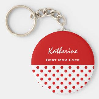 Beste Mamma-überhaupt festliche Schlüsselanhänger