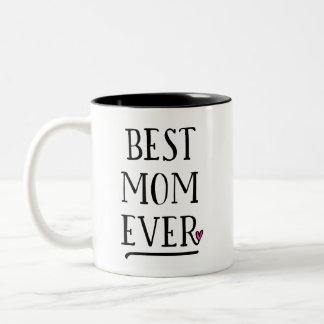 Beste Mamma überhaupt mit persönlicher Mitteilung Zweifarbige Tasse
