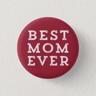 Beste Mamma überhaupt Runder Button 2,5 Cm