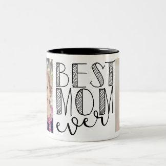 Beste Mamma-überhaupt Tasse Zweifarbige Tasse