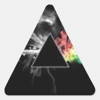 Beste meistverkaufte Einzelteile Dreieckiger Aufkleber