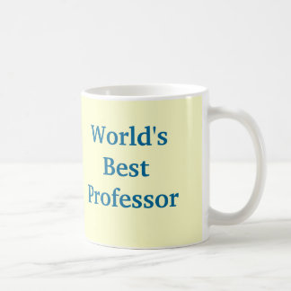 Beste Professor-Tasse der Welt Kaffeetasse