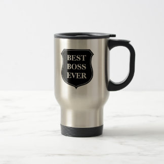 Beste Reise-Tasse des Chefs überhaupt mit Zitat