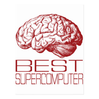 Beste Supercomputer Postkarte