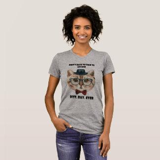 Beste Tagesüberhaupt - Introvert Katze T-Shirt