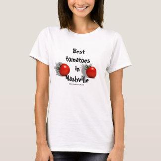 Beste Tomaten im freien Raum T-Shirt