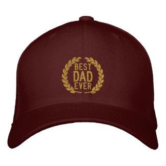 Beste Vati überhaupt All-Star- SuperDad Stickerei Bestickte Kappe
